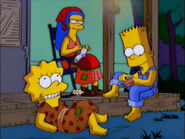 Southern Bart and Lisa