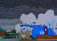 The Mascots Fall And Destroy The Springfield Orphanage