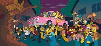 File:The Simpsons Movie Angry Mob lifting the Simpsons Car.png