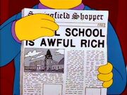 Awful school is awful rich