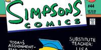 Simpsons Comics 44