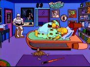 Comic Book Guy Bedroom