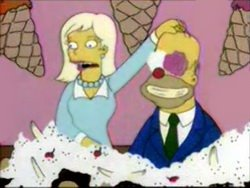 Homer ice-cream