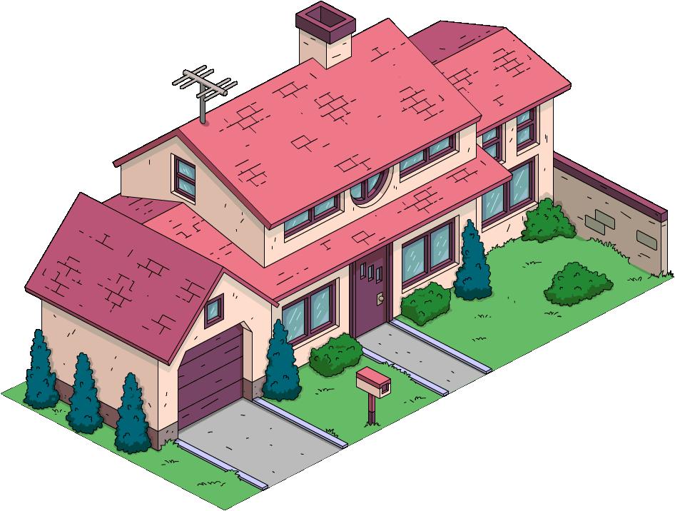 725 Evergreen Terrace Simpsons Wiki Wikia