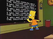 Who Shot Mr. Burns (Part Two) Chalkboard Gag