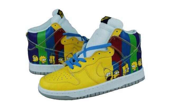 File:Nike Simpsons shoes.jpg