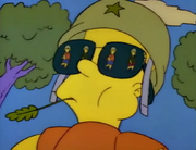 Bart as a General (Bart the General)