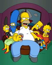 Treehouse of Horror XII (Promo Picture) 2
