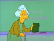 Elderly Mrs Krapapple