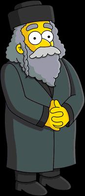Rabbi Hyman Krustofsky   Simpsons Wiki   FANDOM powered by