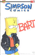 The simpsons bad bart michael jackson