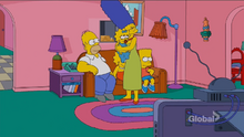 Maggie Safe Couch Gag