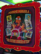 The Simpsons Ride Madame Manjula The Future Looker-Atter! Poster