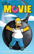 The Simpsons Movie Homer on Wrecking Ball Poster