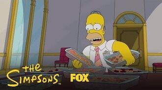 Homer Is Overcome With Happiness Season 28 Ep. 12 THE SIMPSONS
