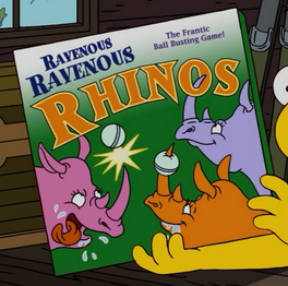 Ravenous ravenous rhinos