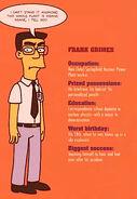 Frank Grimes Grimey Factfile The Simpsons