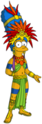 Mayan Marge Tapped Out