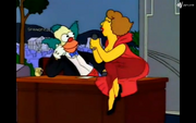 Singing with Krusty