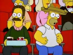 File:Homer and ned at game.jpg