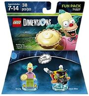 Lego Dimensions The Simpsons Krusty the Clown Fun Pack
