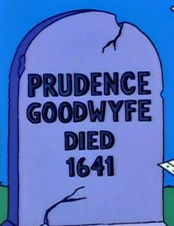 Prudence Goodwyfe