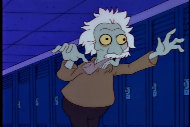 File:Treehouse of Horror III Albert Einstein.jpg