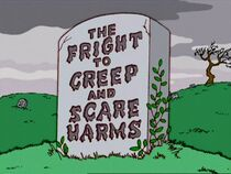 The Fright to Creep and Scare Harms