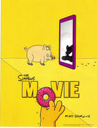 The Simpsons Movie Spider-Pig Poster