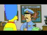 The Simpsons go to brazil