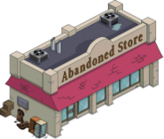 Abanoned Store Tapped Out