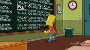 Gone Abie Gone Chalkboard Gag