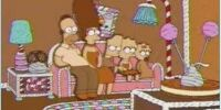 Gingerbread couch gag