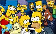 Simpsons version of oscars selfies