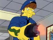 Snake police taser