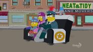 Gone Abie Gone (Couch Gag) 2