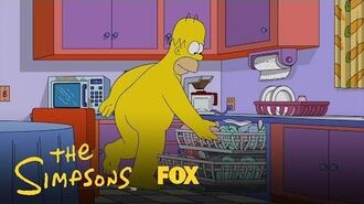 Homer Enjoys His Day In His Birthday Suit Season 28 Ep. 2 THE SIMPSONS