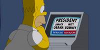 Homer Votes 2012