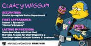 Chief Wiggum-Every Simpsons Ever