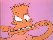 Bart Making his First Face (Making Faces)