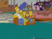 Double, Double, Boy in Trouble (Couch Gag) 2