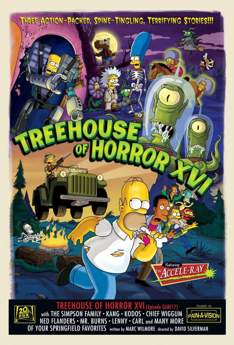 Image result for TREEHOUSE OF HORROR XVI