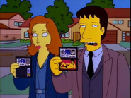 Mulder & Scully on the Simpsons - #TheXFiles