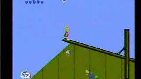 The Simpsons Bart vs