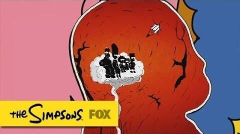 "Couch Gag from ""What To Expect When Bart's Expecting"" THE SIMPSONS ANIMATION on FOX-0"
