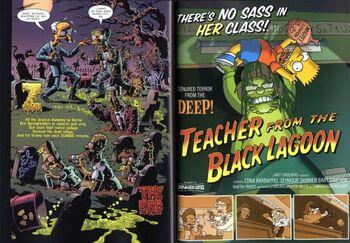 Teacher From the Black Lagoon Treehouse of Horror Hoodoo Voodoo Brouhaha