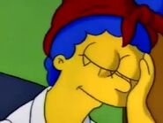 Marge sleeping