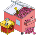 Dumpster of Donuts and Premium Box