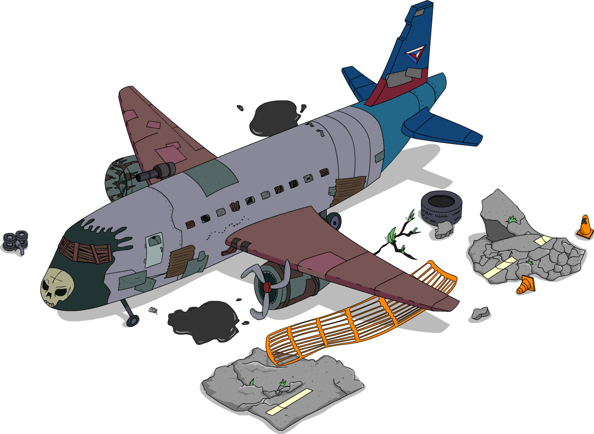 Crazy Plane The Simpsons Tapped Out Wiki Fandom