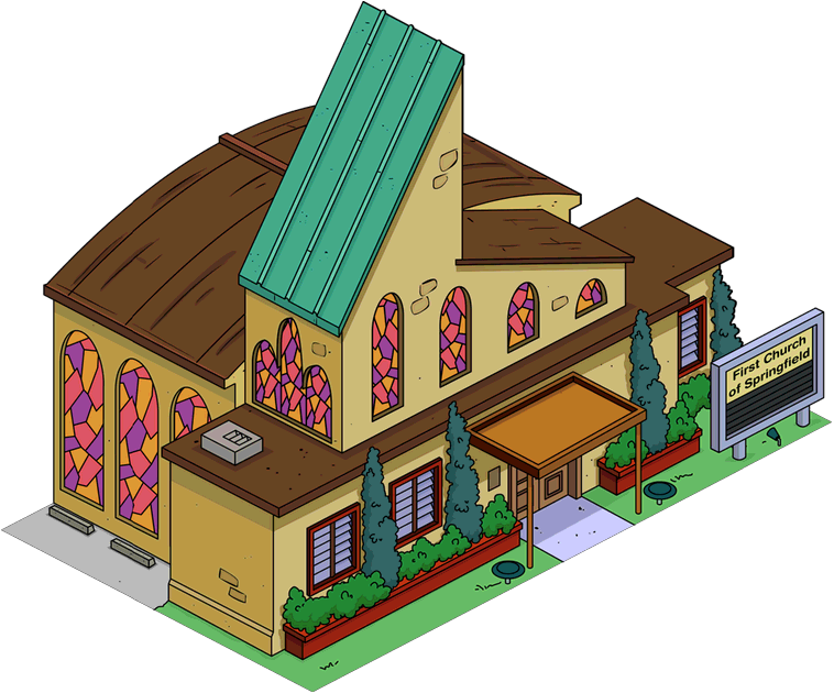 First Church Of Springfield The Simpsons Tapped Out